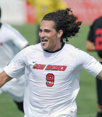 college soccer player Devon Sandoval