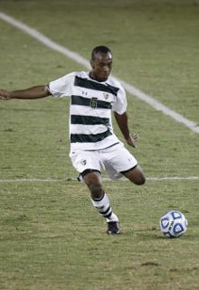 south florida college soccer player leston paul