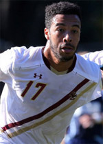 boston college men's college soccer player charlie rugg