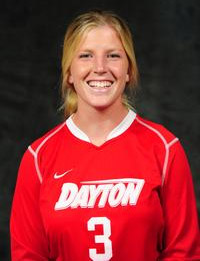 dayton women's college soccer player colleen williams