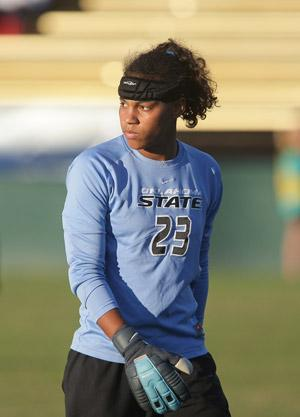 oklahoma state women's college soccer player adrianna franch