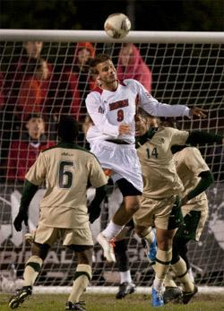 louisville men's college soccer player colin rolfe