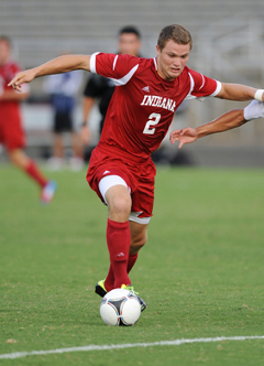 college soccer player indiana eriq zavaleta