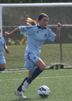 club soccer player Savannah Trujillo
