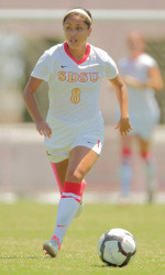 sand diego state women's college soccer player megan jurado