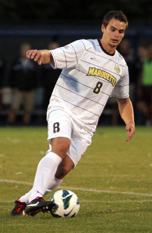 college soccer player Andy Huftalin