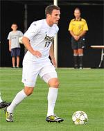 notre dame men's college soccer player ryan finley