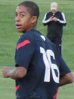 Orrin Gaines, club soccer, U15 boys national team, Lonestar SC, Mckenzie Gaines