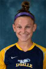 la salle women's college soccer player jourdan mcvicker