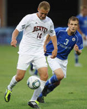 college soccer player Zach Bolden Denver