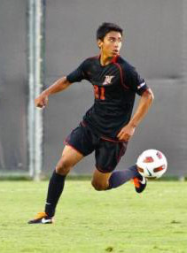college soccer player carlos benavides