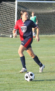 club soccer player evelyn neidert