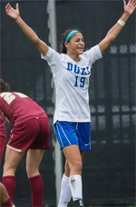 duke women's college soccer player kim decesare