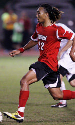 louisville men's college soccer player marlon hairston