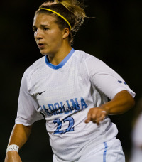 college soccer player amber brooks