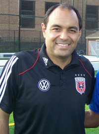 club soccer coach dc united Thomas Torres