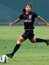 stanford women's college soccer player rachel quon