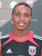 Michael Seaton forward club soccer D.C. United