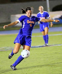 Holly King college soccer Florida defender