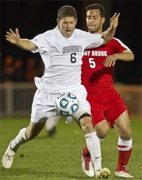monmouth men's college soccer player ryan clark