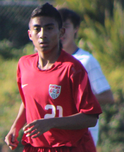 Roberto Hernandez, Texas Rush, boys club soccer