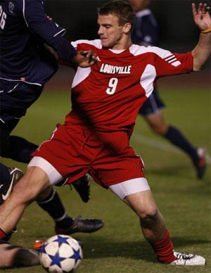 louisville mens college soccer player coling rolfe