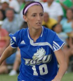 fgcu women's college soccer player kc correllus