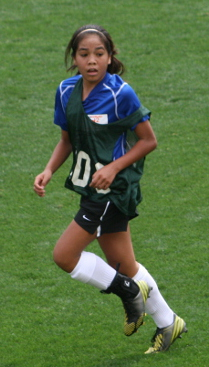 club soccer player tophat Grace Nguyen