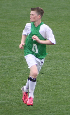 club soccer player Chris Durkin
