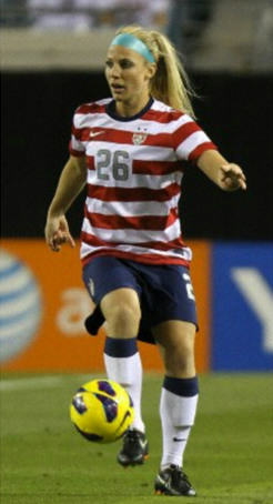 college soccer Julie Johnston