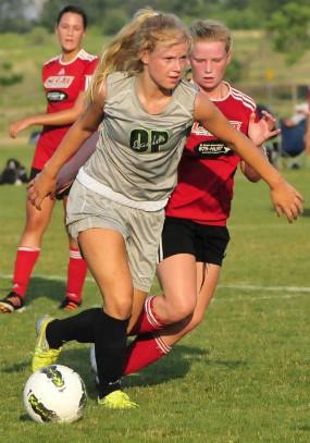 Katerina Weikert, girls club soccer, cornell