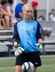 Devon Kerr club soccer goalkeeper