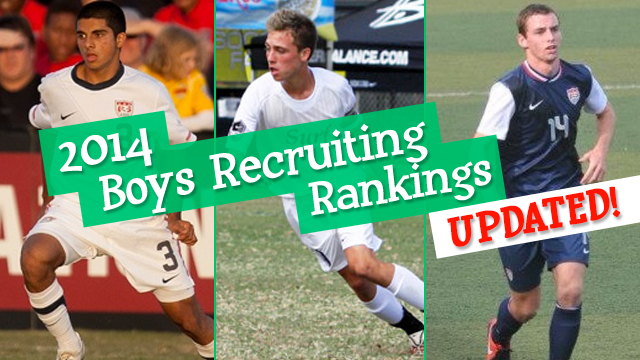 2014 Men's Recruiting Class Rankings Update