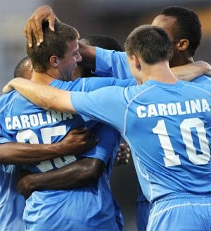 north carolina mens college soccer players