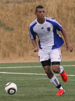 Trey Thomas, boys club soccer