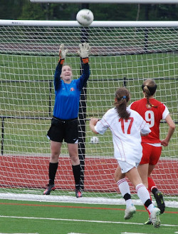 Kaelyn Johns, goalkeeper, girls club soccer