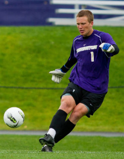 Washington soccer Spencer Richey