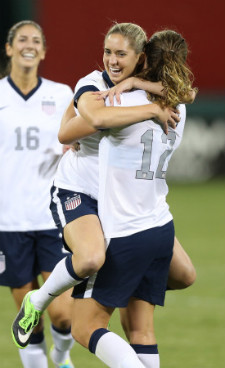 Brian goal USWNT
