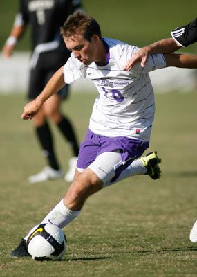 high point mens college soccer player Shawn Sloan
