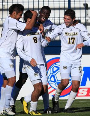 michigan men's collge soccer player soony saad
