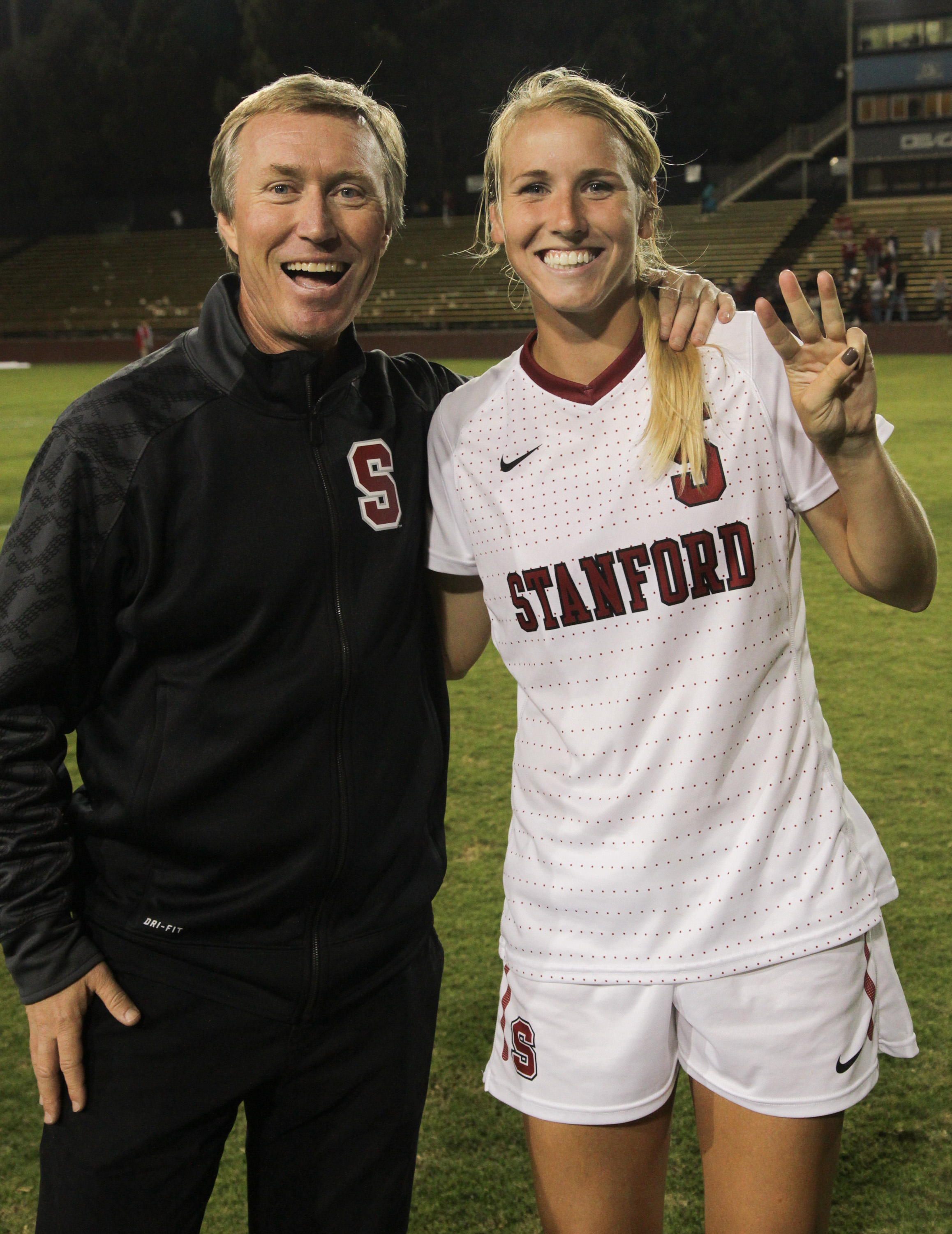 Courtney Verloo, Stanford, womens college soccer