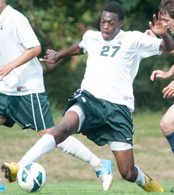 Fatai Alashe, Michigan State, college soccer