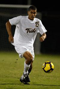 william and mary mens college soccer player Alan Koger