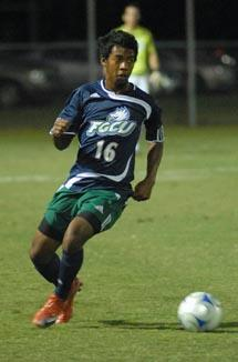 florida gulf coast mens college soccer player Deion Jones