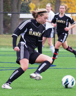 club soccer Courtney Petersen Michigan Hawks