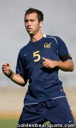 cal mens college soccer player a.j. soares
