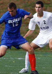 butler mens college soccer player matt hedges