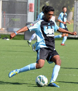 Aravind Sivakumar, boys club soccer, de anza force