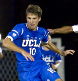 Leo Stolz, men's college soccer, UCLA