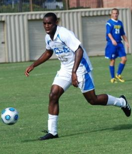 UCLA men's colleg esoccer player Amobi Okugo.